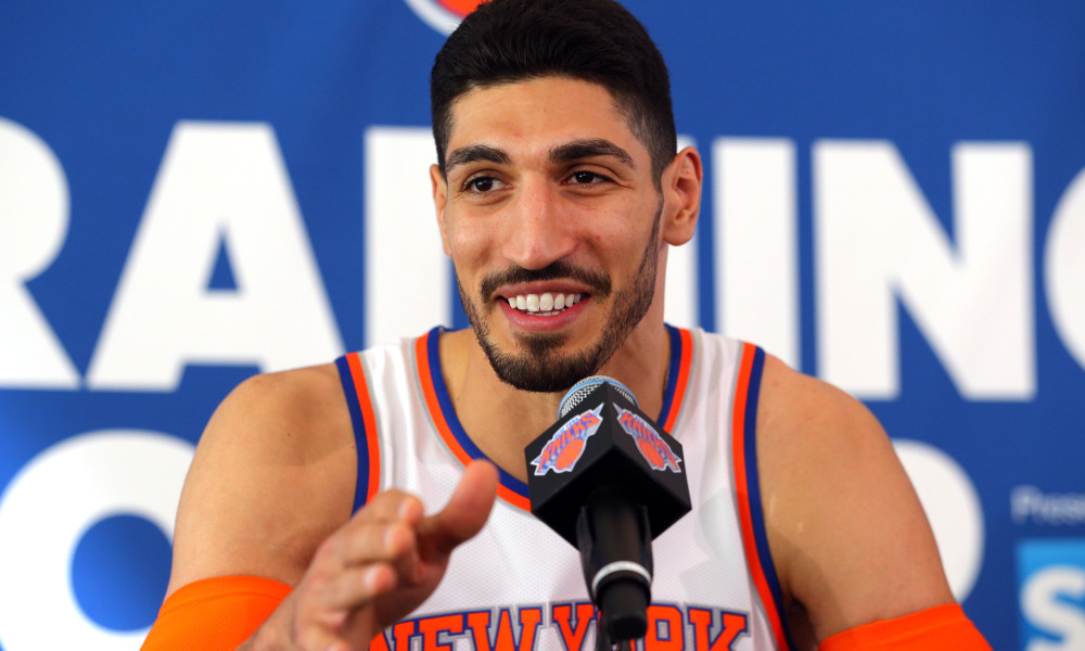 USP NBA: NEW YORK KNICKS-MEDIA DAY S BKN USA NY