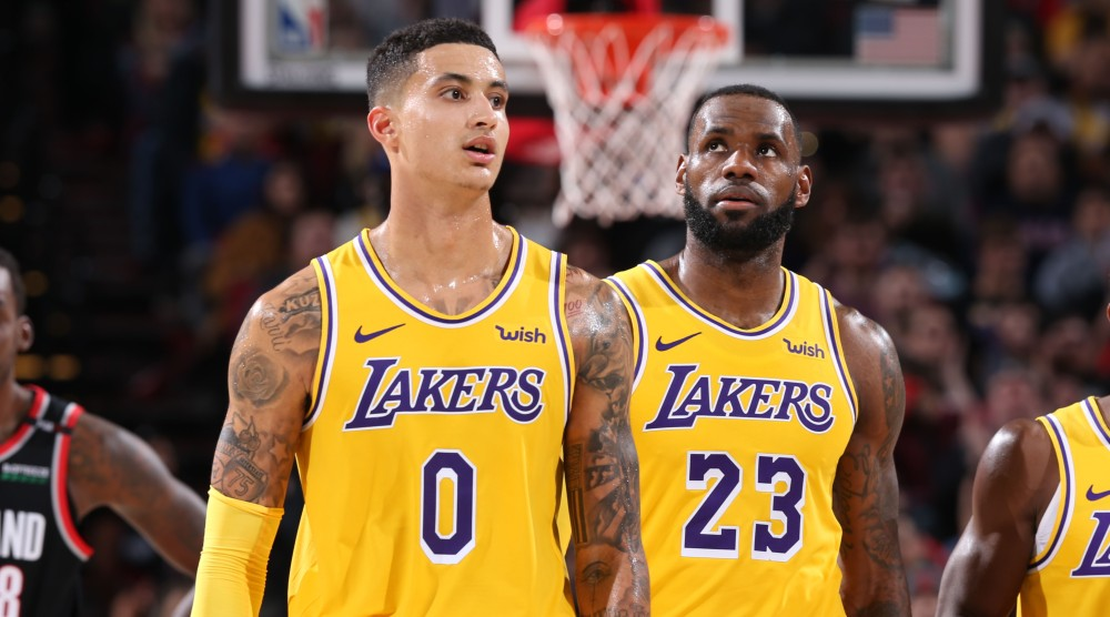 Los Angeles Lakers v Portland Trail Blazers