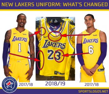 Los-Angeles-Lakers-New-Uniform-2018-2019-Compare-Changes-350x300.jpg